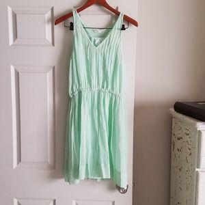 NWT Club Monaco 8 Myra Limeade Dress W/Slip NEW